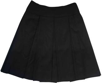 Prada Blue Wool Skirt for Women