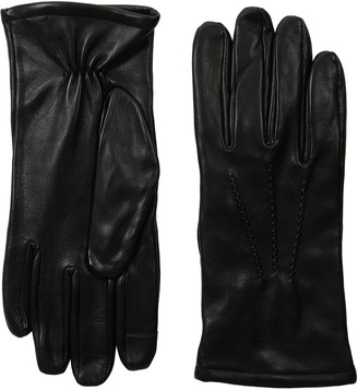 GII Men's Fine Leather Touchscreen Gloves with Cashmere Blend Lining