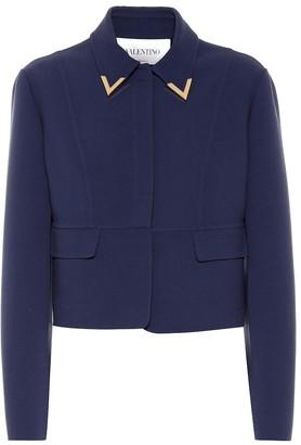 Valentino Virgin wool crepe jacket