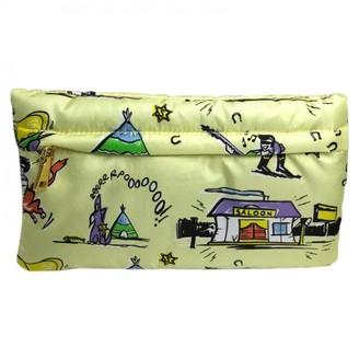 Prada Yellow Cloth Travel bags