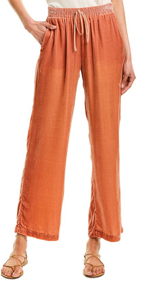 Johnny Was Sloane Silk-Blend Easy Pant