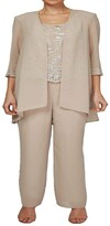 Thumbnail for your product : Le Bos Women's Sequin embroiodered 3 pc Pant Set