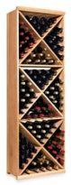 Wine Enthusiast N'FINITY Diamond Cube Wine Rack Kit in Natural