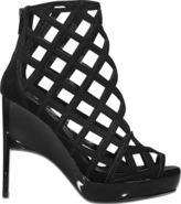 Burberry Edenside cage boot