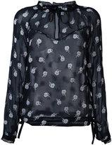 Rag & Bone floral blouse