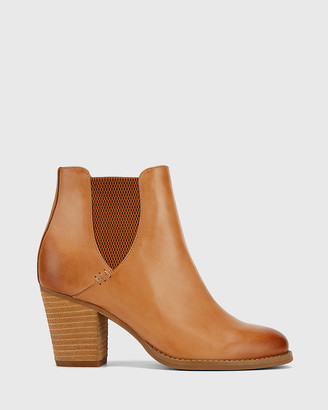 Wittner Kessie Round Toe Elasticated Ankle Boots