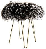 Le-Coterie Curly Hairpin Ottoman