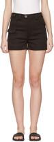 Miu Miu Black Cotton Shorts