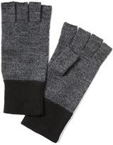 Banana Republic Boiled Wool Fingerless Gloves