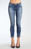 Mavi Jeans Serena Ankle Super Skinny In Flower Indigo
