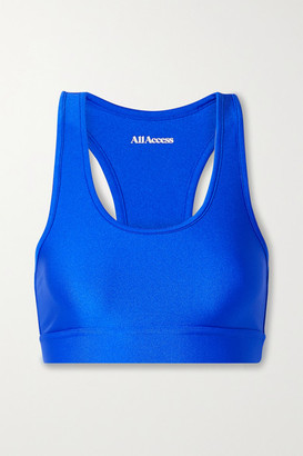 All Access Front Row Stretch Sports Bra - Bright blue