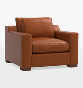 Rejuvenation Sublimity Classic Leather Chair-and-a-Half