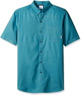 Columbia Men's Tall-Plus-Size Tall Thompson Hill Solid Short Sleeve Shirt