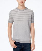 Ben Sherman Men's Waffle-Knit Striped Sweater