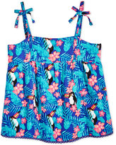 Roxy Tropical Toucan Tank Top, Little Girls (2-6X)