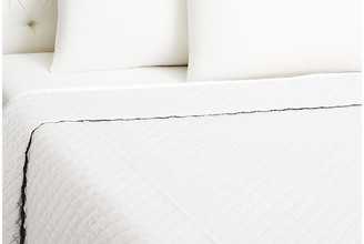 Kumi Kookoon Quilted Coverlet - White