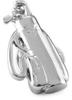 David Donahue Sterling Silver Golf Bag Lapel Pin