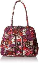 Vera Bradley Turn Lock Satchel Bag