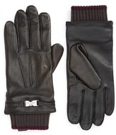 Ted Baker Calypso Leather Tech Gloves