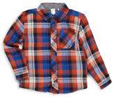 Petit Lem Little Boy's Plaid Cotton Shirt