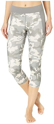 Roxy Take Me To the Beach Capri Pants (Charcoal Heather Darwin) Women's Casual Pants