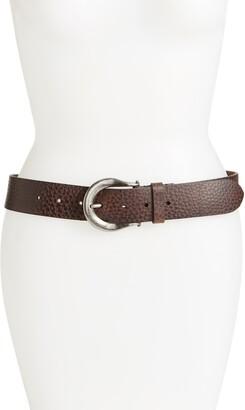 AllSaints Western Leather Belt