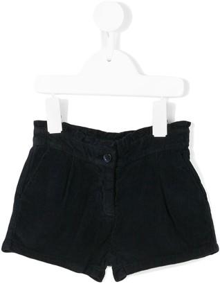 Knot Ruffle Trim Shorts