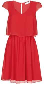 Naf Naf NEW JOEY women's Dress in Red