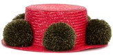 Eshvi - Jupiter hat - women - Straw/Wool - S