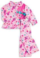 AME Sleepwear Trolls Flannel Pajama Set