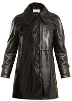 Chloé Single-breasted patent-leather coat