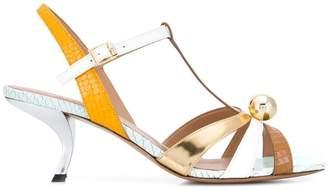 Marni embossed sandals