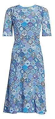 Altuzarra Women's Sylvia Paisley Silk Midi Dress