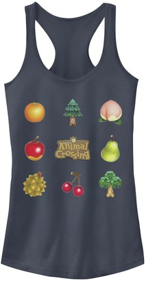 Licensed Character Juniors' Animal Crossing Items Found Graphic Tank