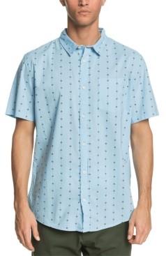 Quiksilver Men's Barbed Short Sleeve Shirt