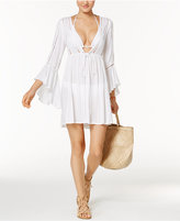 Raviya Lace-Trim Bell-Sleeve Cover-Up Women's Swimsuit