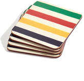 HBC Hudson'S Bay Company Cork Back Coasters