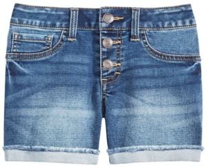 Imperial Star Big Girls Marty Cuffed Denim Shorts