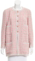 Chanel Tweed Fitted Jacket