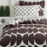 Dormify Reversible Twin XL Duvet Cover and Sham Set - Oval/Moroccan