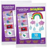 Alex Shrinky Dinks Crystal Clear 20 Sheet Pack