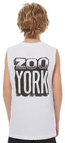 Zoo York New Boys Kids Boys Stone Muscle Crew Neck Cotton White