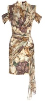 Christopher Kane Floral Printed Dress