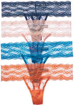 B.Tempt'd B Tempt'd B.TemptD By Wacoal Set Of 4 Thong