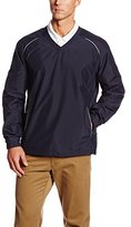 Cutter & Buck Men's Big-Tall Cb Weathertec Beacon V-Neck Jacket