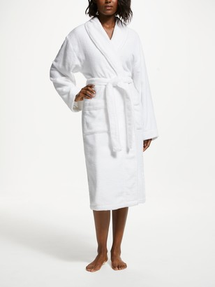 John Lewis & Partners Super Soft and Cosy Unisex Cotton Bath Robe
