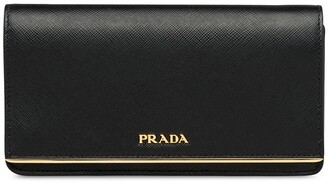 Prada Mini Logo Plaque Crossbody Bag
