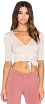 Free People Giselle Wrap Top