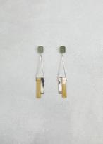 Rachel Comey neutral march earrings