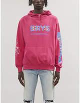 ERYS Graphic-print jersey hoody